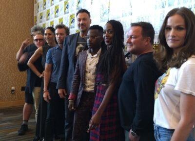 SDCC 2018 Van Helsing Press Cast on the Red Carpet