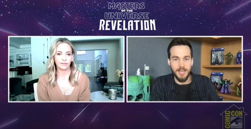 Sarah Michelle Gellar & Chris Woods Masters of the Universe: Revelation