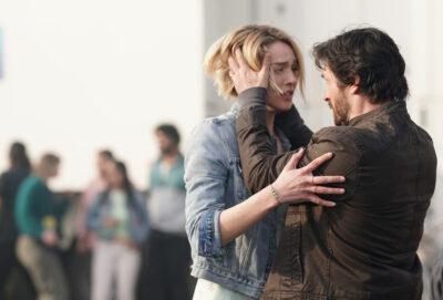 La Brea S1x01 Gavin and Izzy are reunited