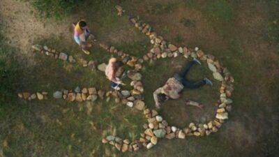 La Brea S1x02 prehistoric human ritual