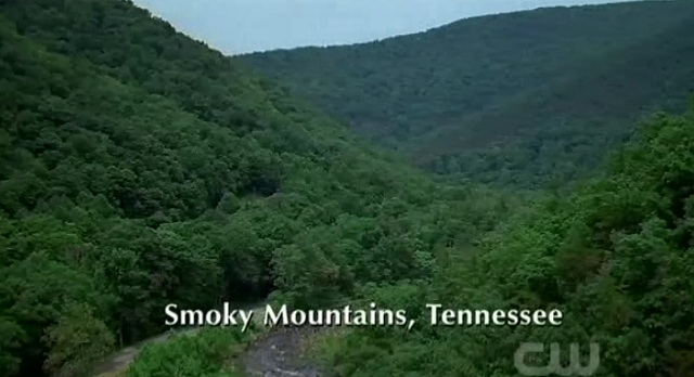 3x02 TVD Smoky Mountains Tennessee Setting