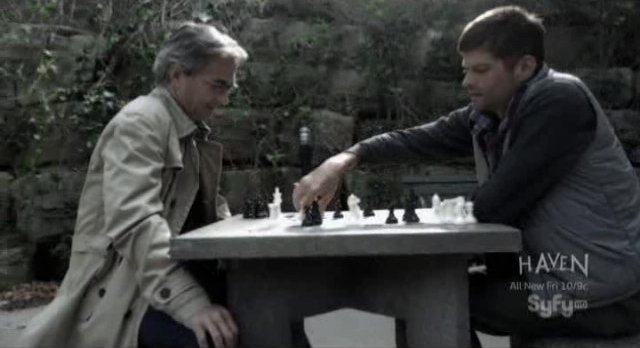 Alphas S1x02 - A game of chess to consider the war
