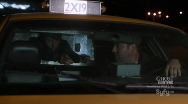 Alphas S1x07 - Catch and Release - Gary in Cab