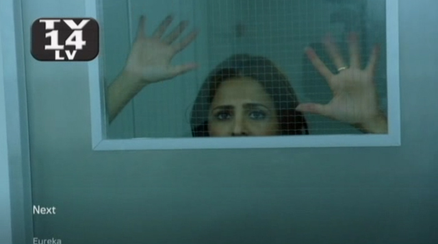 Alphas S1x10 - The Unusual Suspects - Rachel in Cell
