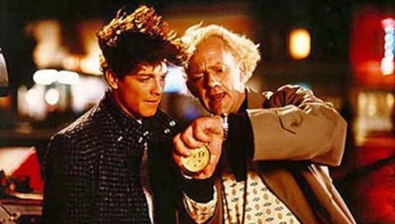 Alternate Marty McFly and Doc Brown