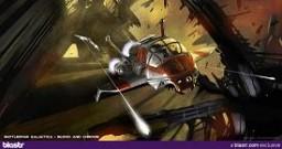 Battlestar Blood and Chrome artwork courtesy BLASTR!