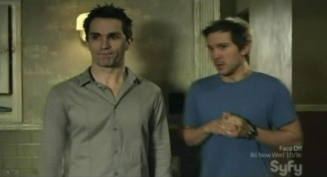 Being Human S1x03 - Aidan and Josh introduce Tony