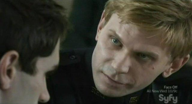 Being Human S1x03 - Aidan is pressured by Bishop