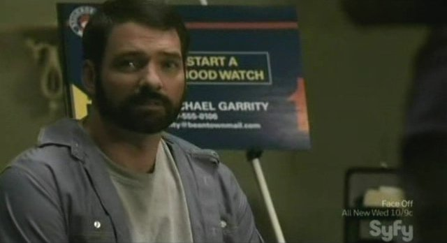Being Human S1x03 - Officer Garrity at the hood watch meeting