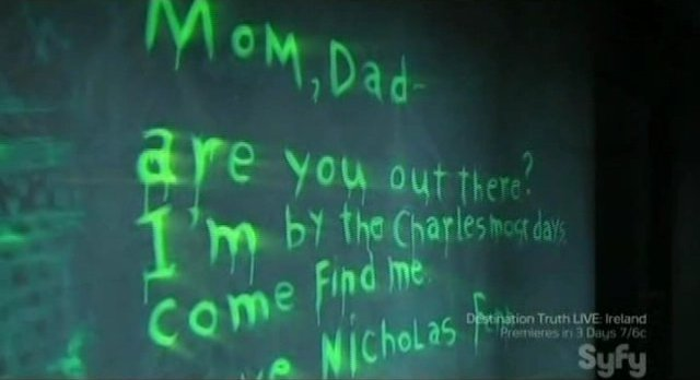Being Human S1x09 - Ghostly Messages