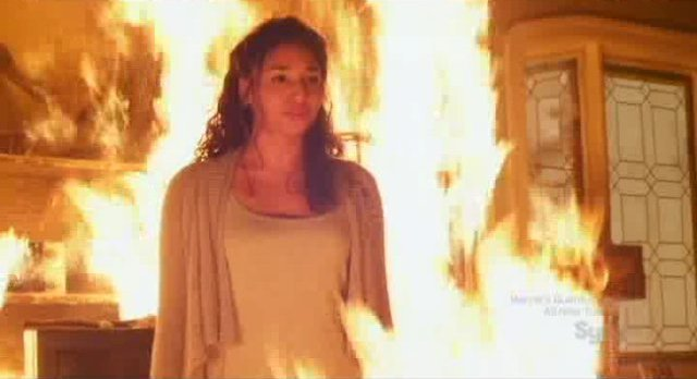 Being Human S1x12 -Danny burning down the house