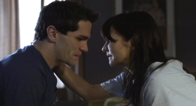 Being Human S1x13 - Aidan and Celine before her sacrifice