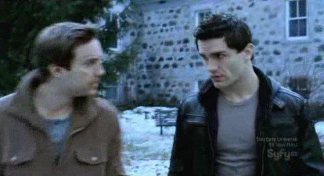 Being Human S1x13 - Aidan and Josh want peace