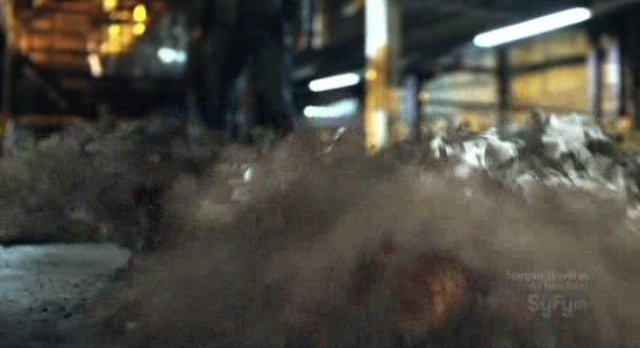 Being Human S1x13 - Bishop ashes to ash dust to dust