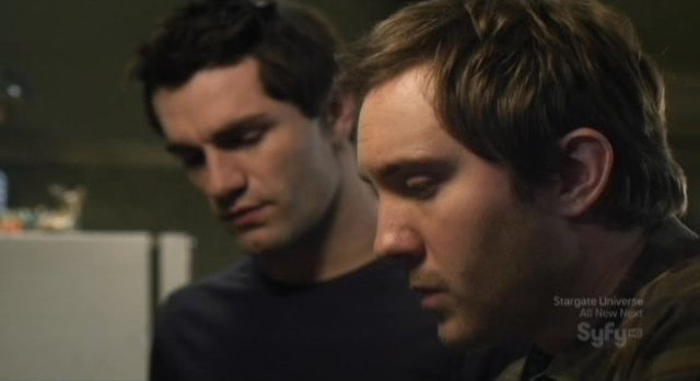 Being Human S1x13 - Josh infroms Aidan of the location