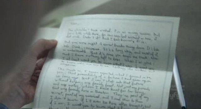 Being Human S1x13 - Joshs letter to Nora