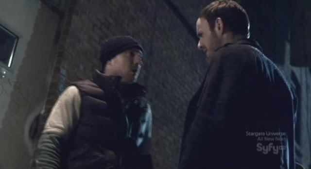 Being Human S1x13 - Marcus traps Josh in the ally