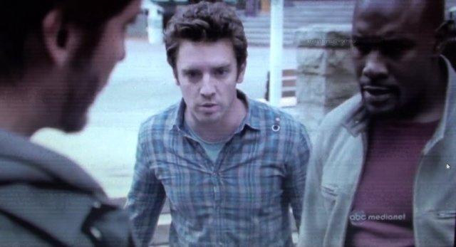 Bret Harrison as Dr. Sidney Miller in Red Rain