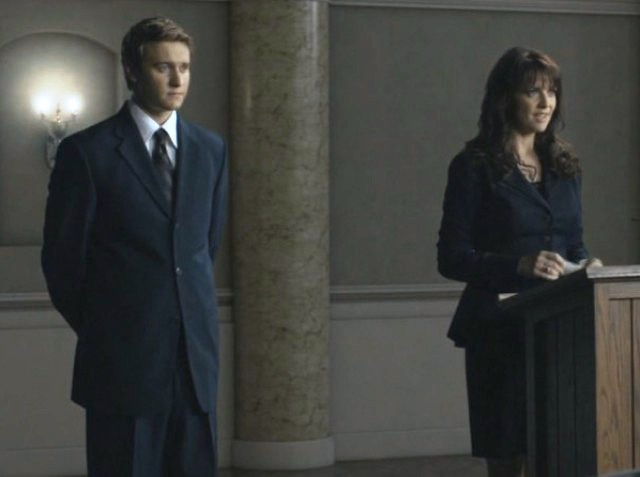Brian McCaig with Amanda Tapping of Sanctuary