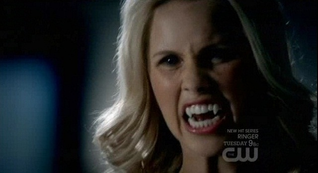 The Vampire Diaries 3x05 Rebekah attacks Caroline