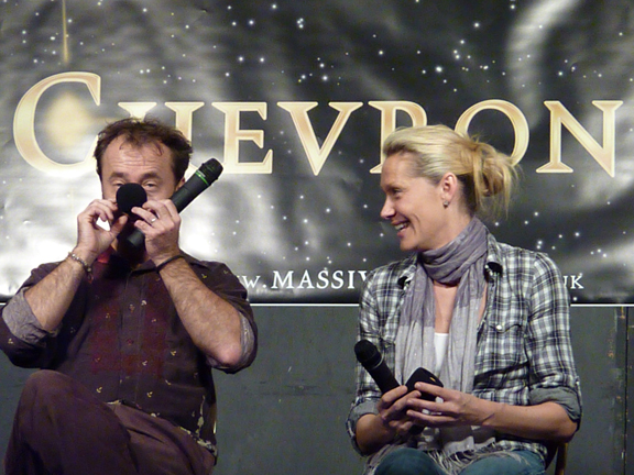 Chevron 7.5 David Nykl and Andee Frizzell + mics