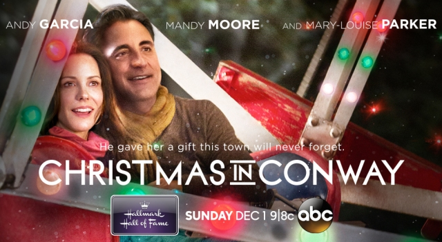 Christmas in Conway banner poster - Click to learn more at the official Hallmark Hall of Fame web site!