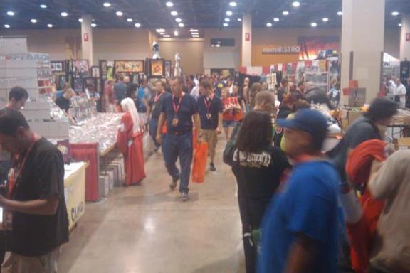 Phoenix Comicon Convention Hall