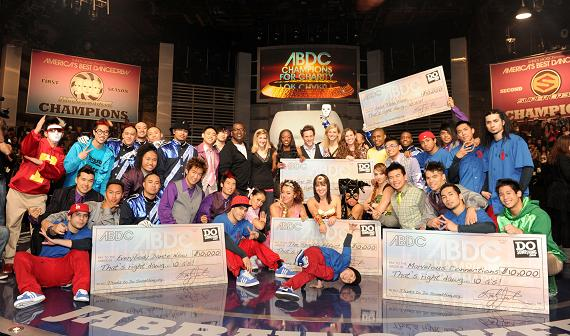 Americas Best Dance Crew Champions for Charity