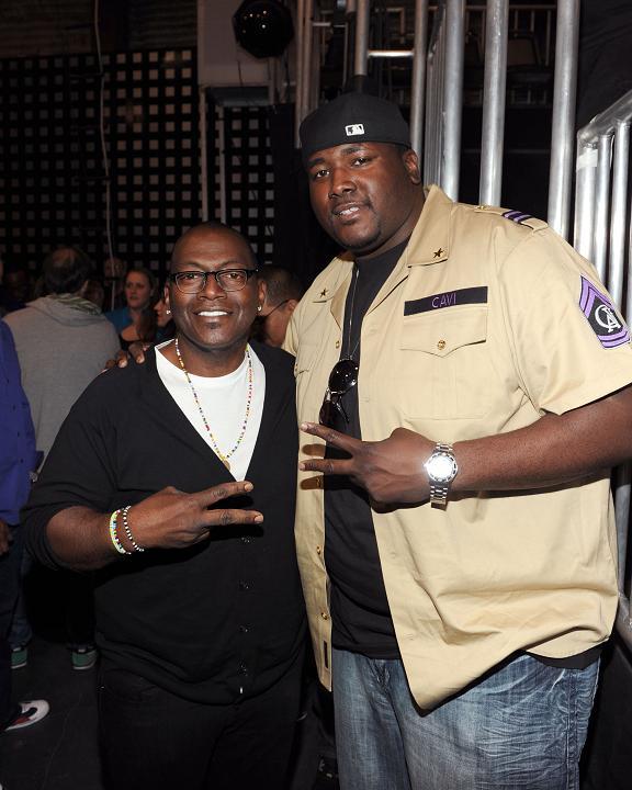 ABDC exec producer Randy Jackson & actor Quinton Aaron