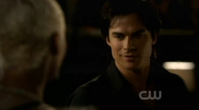 The Vampire Diaries S3x03 Damon meets with Gloria