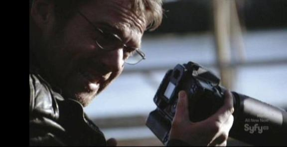 Dr. Daniel Jackson with Camera SGU Subversion!
