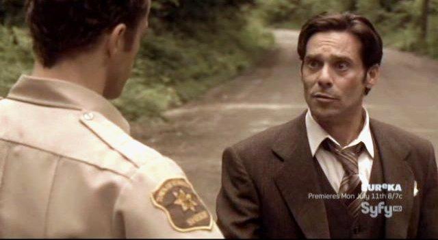Eureka S4x09 - James Callis as Dr Trevor Grant