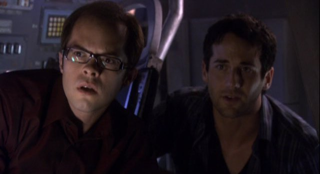 Eureka S4x11 - Grayston and Matter in Lift Off