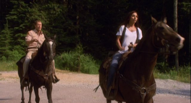 Eureka S4x11 - Horses to the rescue