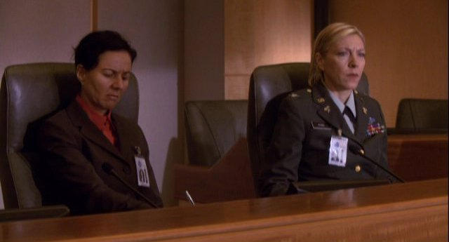 Eureka S4x11 - Other military officers