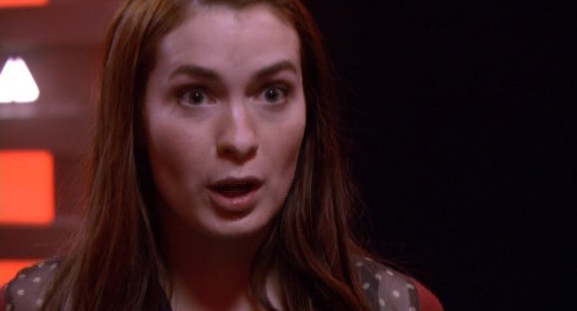 Eureka S4x12 - Felicia Day as Dr Holly Marten