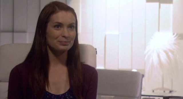 Eureka S4x13 - Felicia Day as Dr Holly Marten