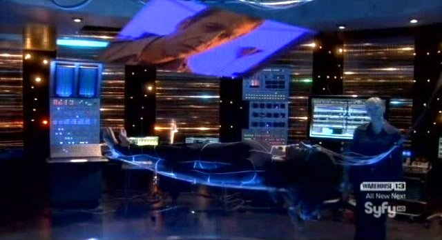 Eureka S4x14 - Higsfiled control