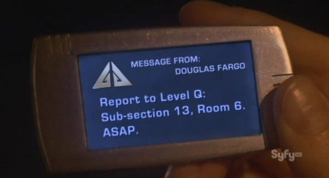 Eureka S4x16 - A message from Fargo