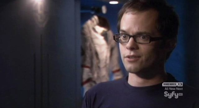 Eureka S4x17 - The geeks hero likes both Star Treks