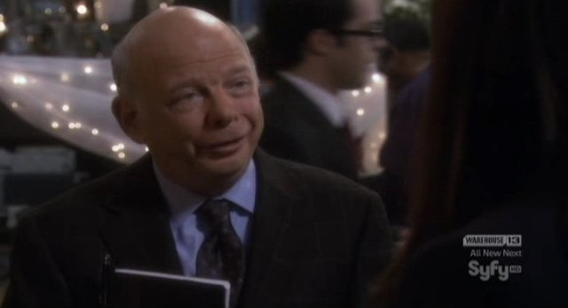 Eureka S4x17 - Wallace Shawn never disappoints