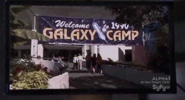 Eureka S4x18 - Space camp memories