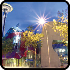 Click to visit Experience Music Museum - Science Fiction Museum!