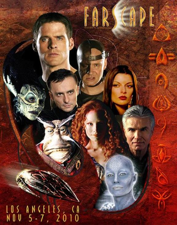 Farscape Con Los Angeles by Creation Entertainment!