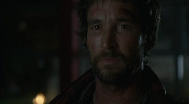 Falling Skies S1x03 - Tom Mason tear in his eye