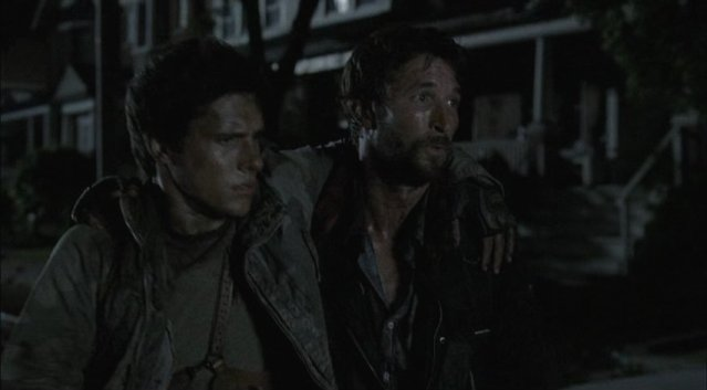 Falling Skies S1x03 - Tom escapes with Hal