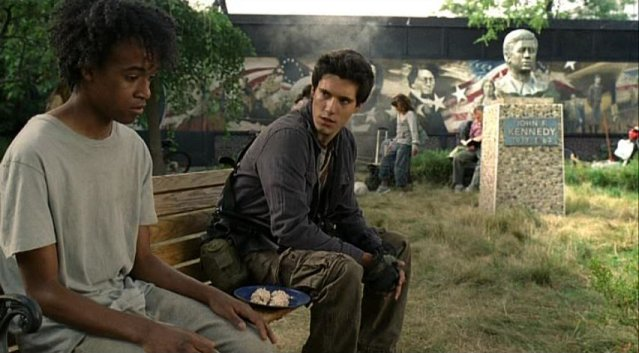 Falling Skies S1x05 - A talk with Anthony