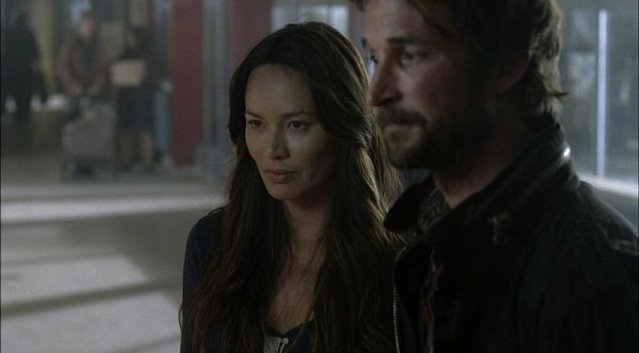 Falling Skies S1x05 - Anne and Tom - lovers to be?
