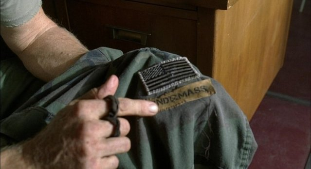 Falling Skies S1x05 - Sewing Second Mass badge