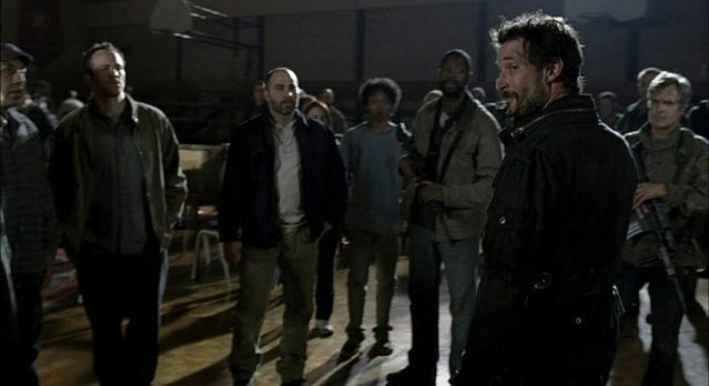 Falling Skies S1x06 - A town hall meeting?